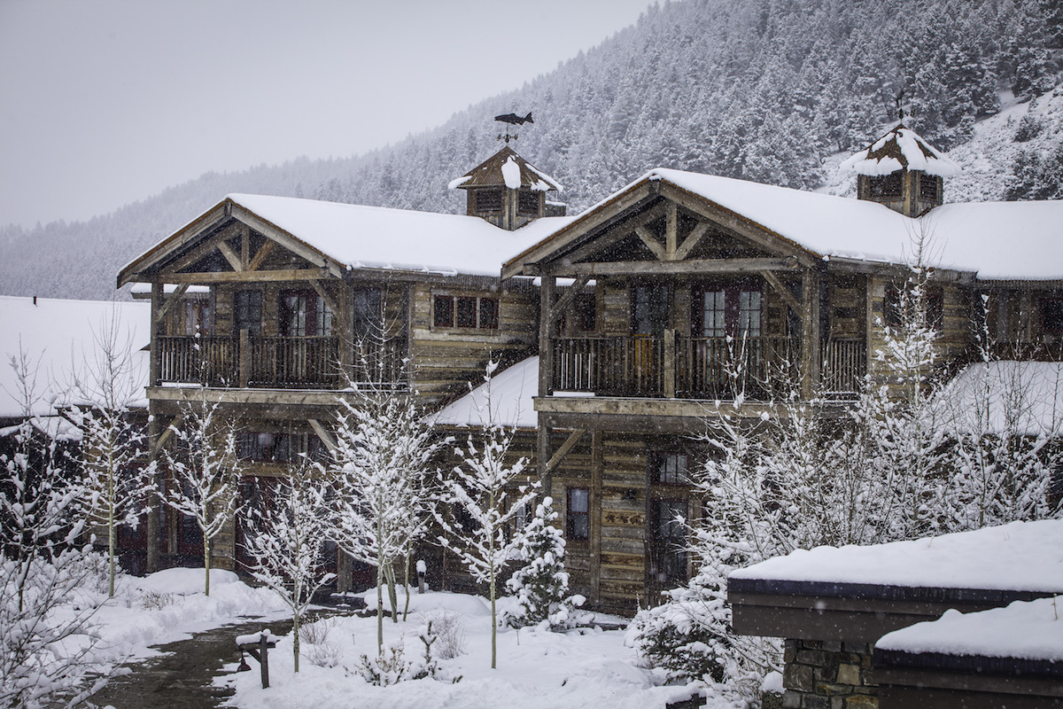 The Ranch at Rock Creek in winter