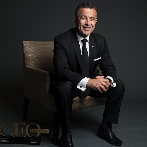Michael Ebeid, CEO & MD of SBS – CEO of the Year