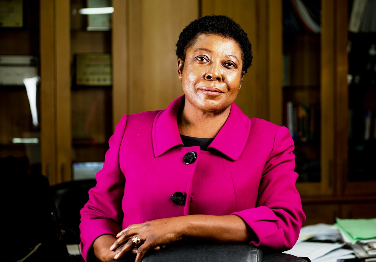 Divine Ndhlukula, Founder and Managing Director of SECURICO, Zimbabwe