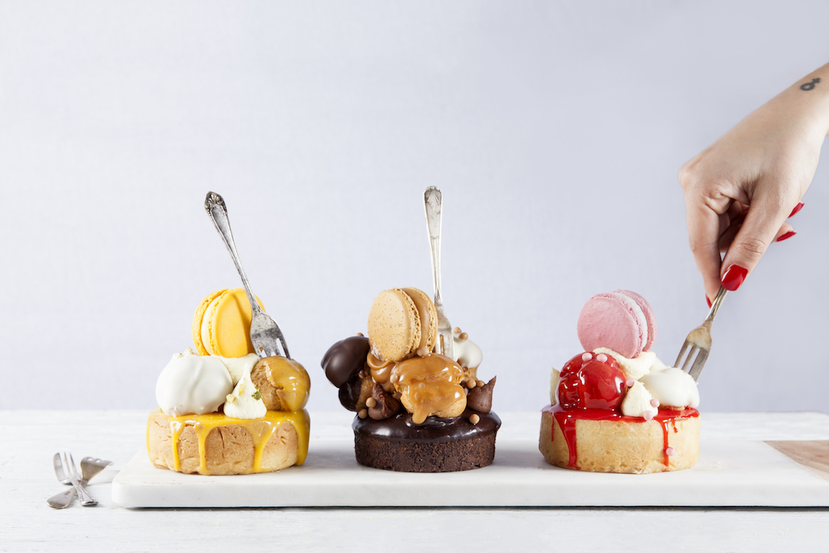 A trio of desserts from Sweet by Nature