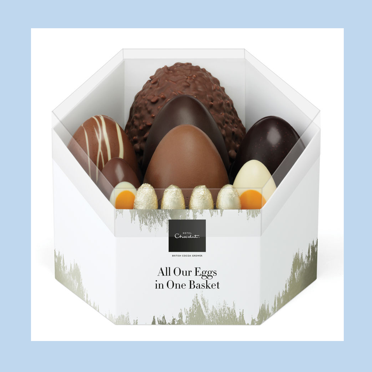 Hotel Chocolat All Our Eggs in One Basket