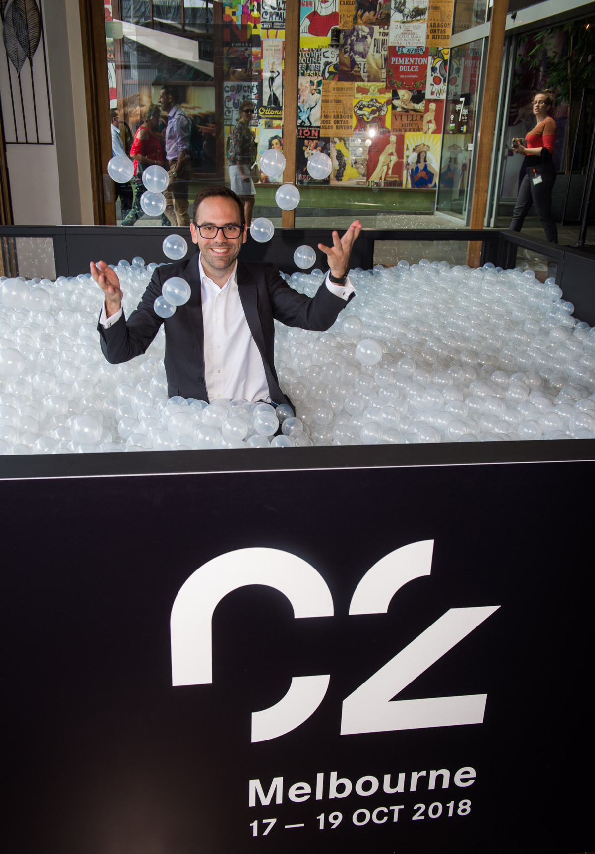 C2 Melbourne's CEO of Asia–Pacific Martin Enault