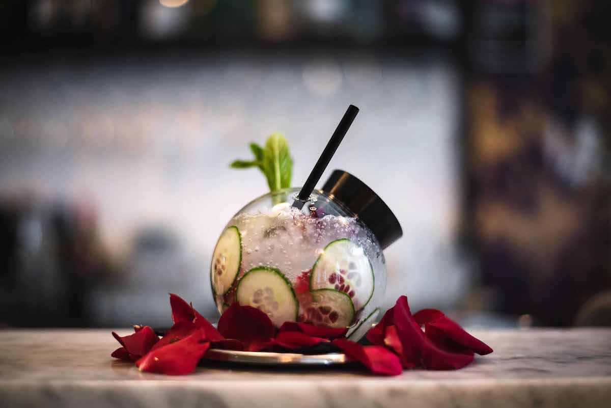 Gin Lane Cucumber & Rose
