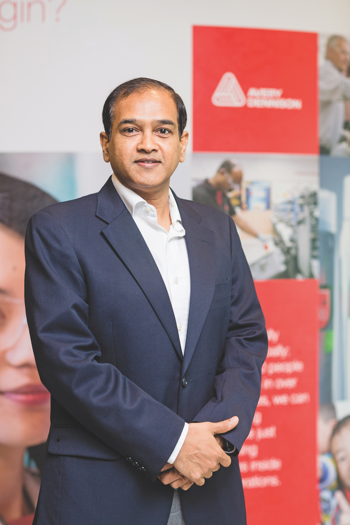 Anil Sharma Vice-President & General Manager of Avery Dennison