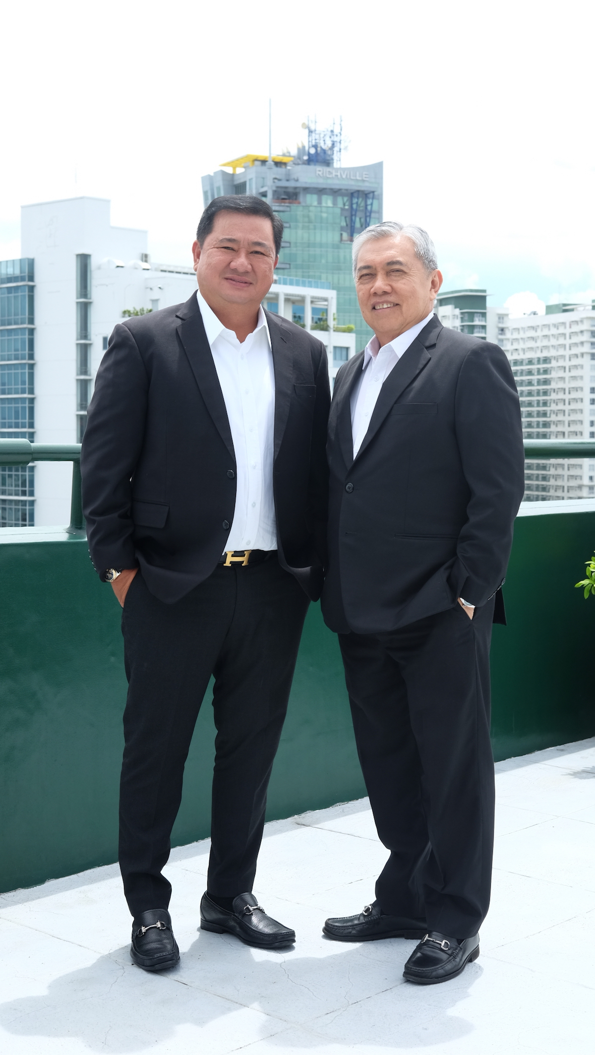 Romarico Alvarez & Jonathan Lu Chairman & President of PA Alvarez Properties & Development Corporation