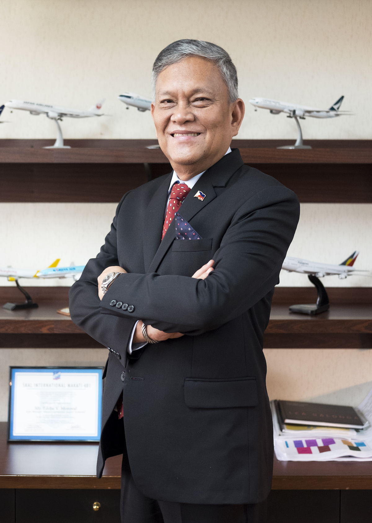 Eddie V Monreal General Manager of Manila International Airport Authority