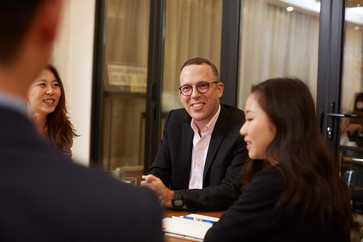 Jonathan Zeman CEO of Lan Kwai Fong