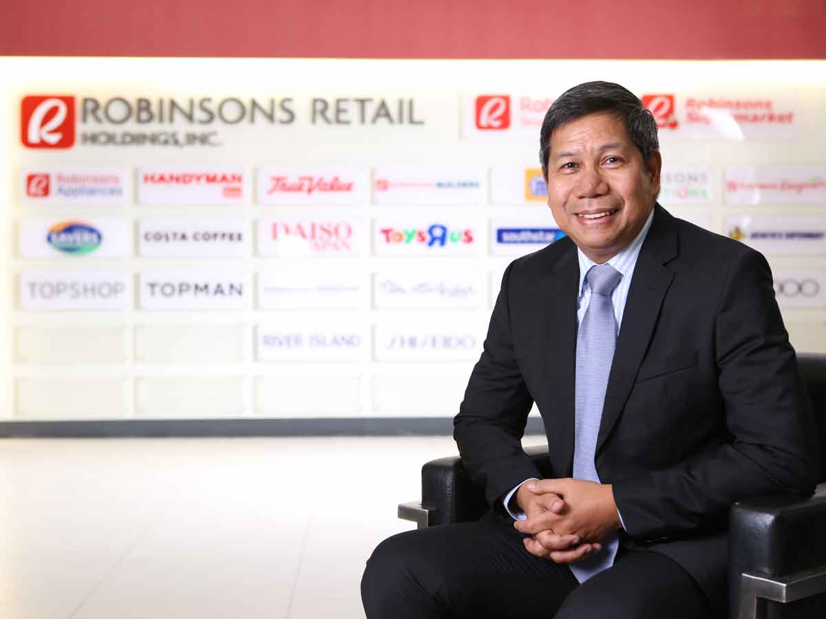 Justiniano Gadia, General Manager of Robinsons Supermarket