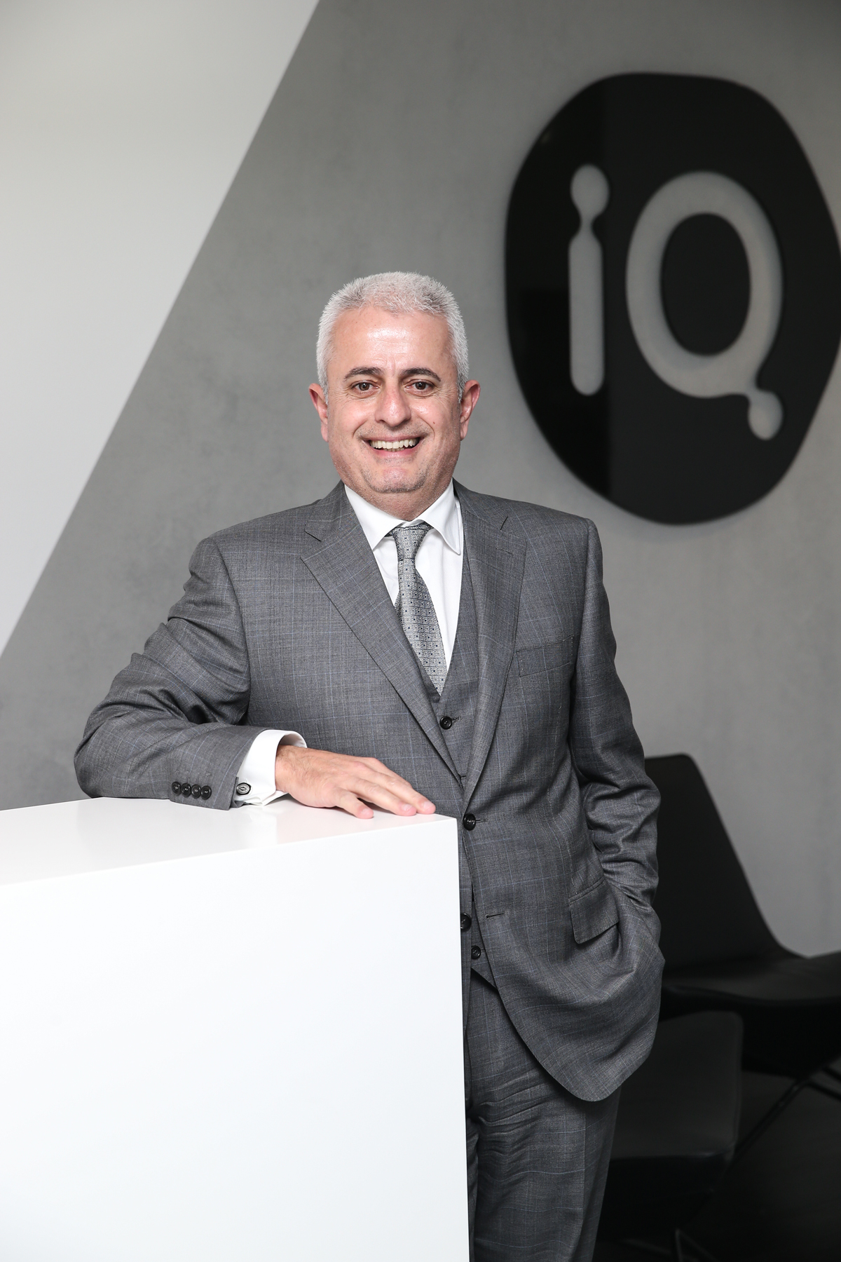 Dr George Syrmalis, Founder & CEO of The IQ Group Global