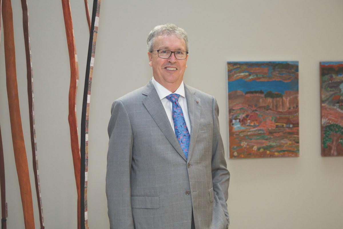 Professor Paul Wellings Vice Chancellor of The University of Wollongong