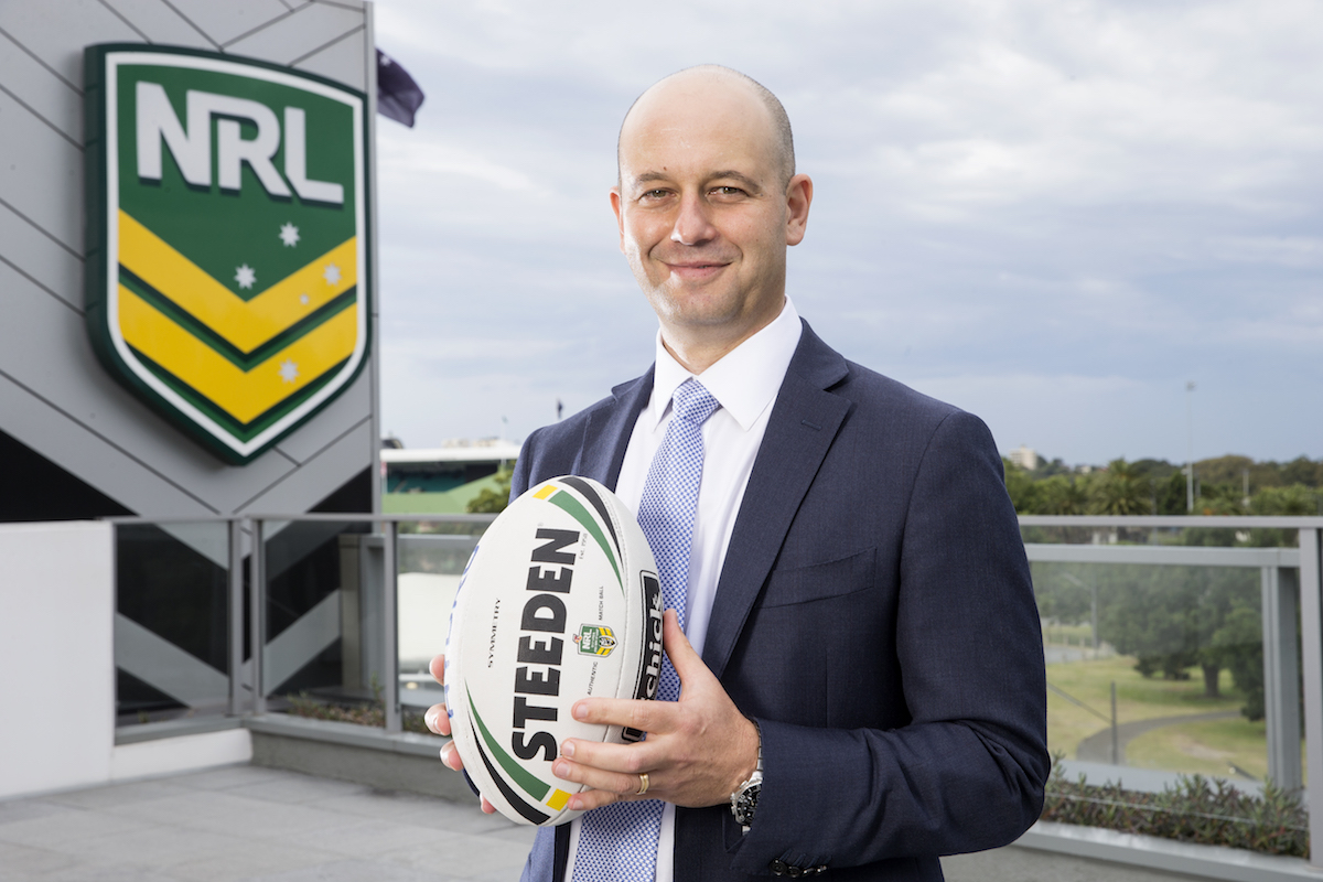 Todd Greenberg CEO of NRL