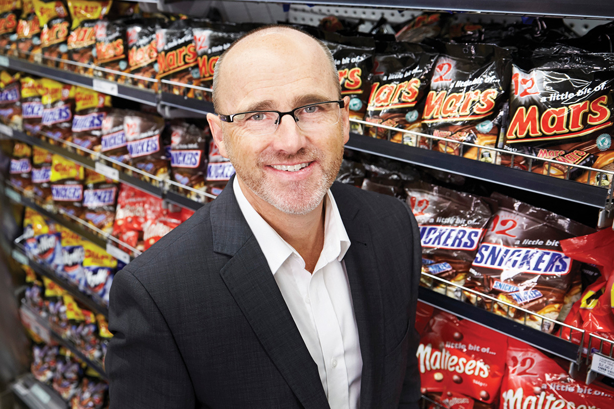Andrew Loader General Manager of Mars Wrigley Confectionery