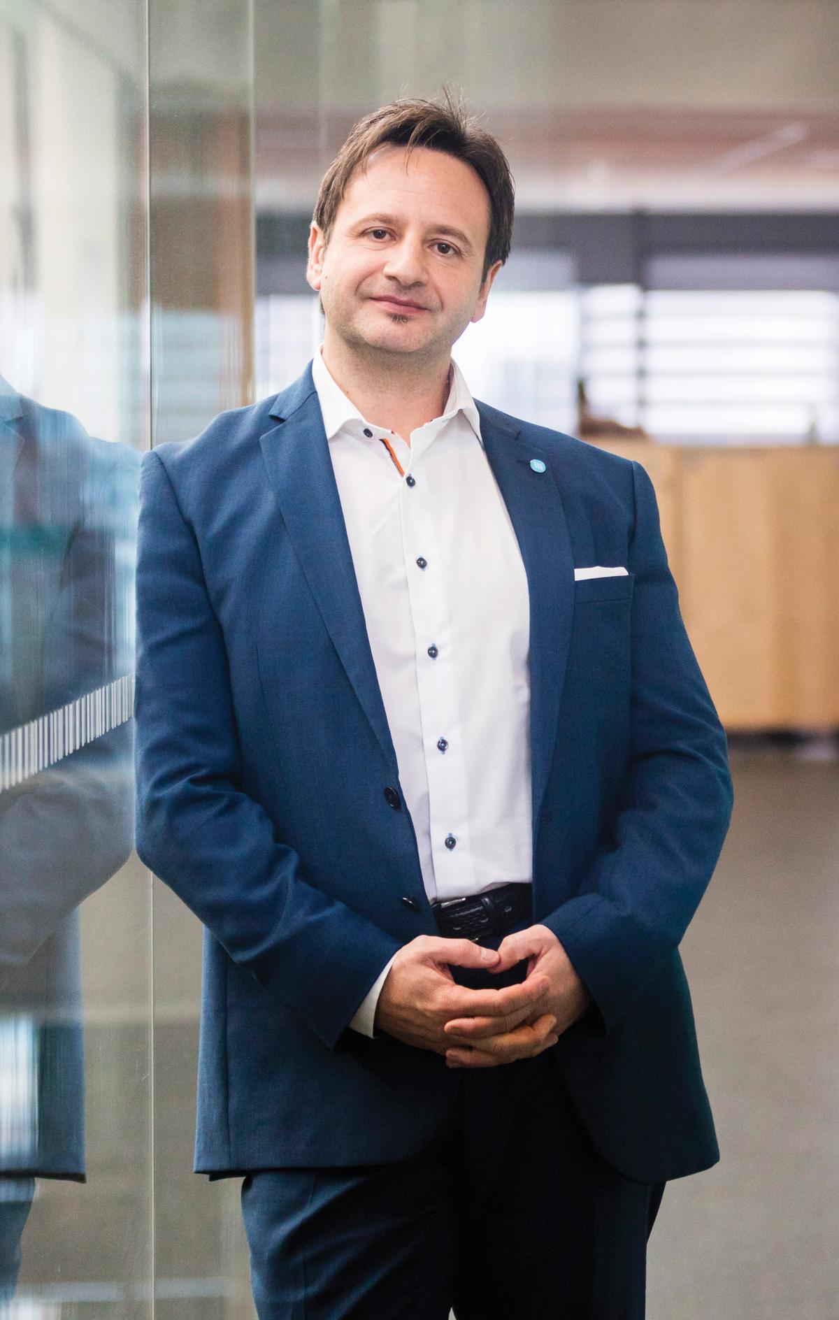 Emilio Romeo, CEO & Managing Director of Australia and New Zealand of Ericsson