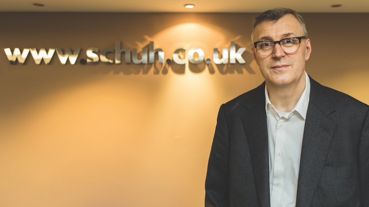 Colin Temple, Managing Director of schuh