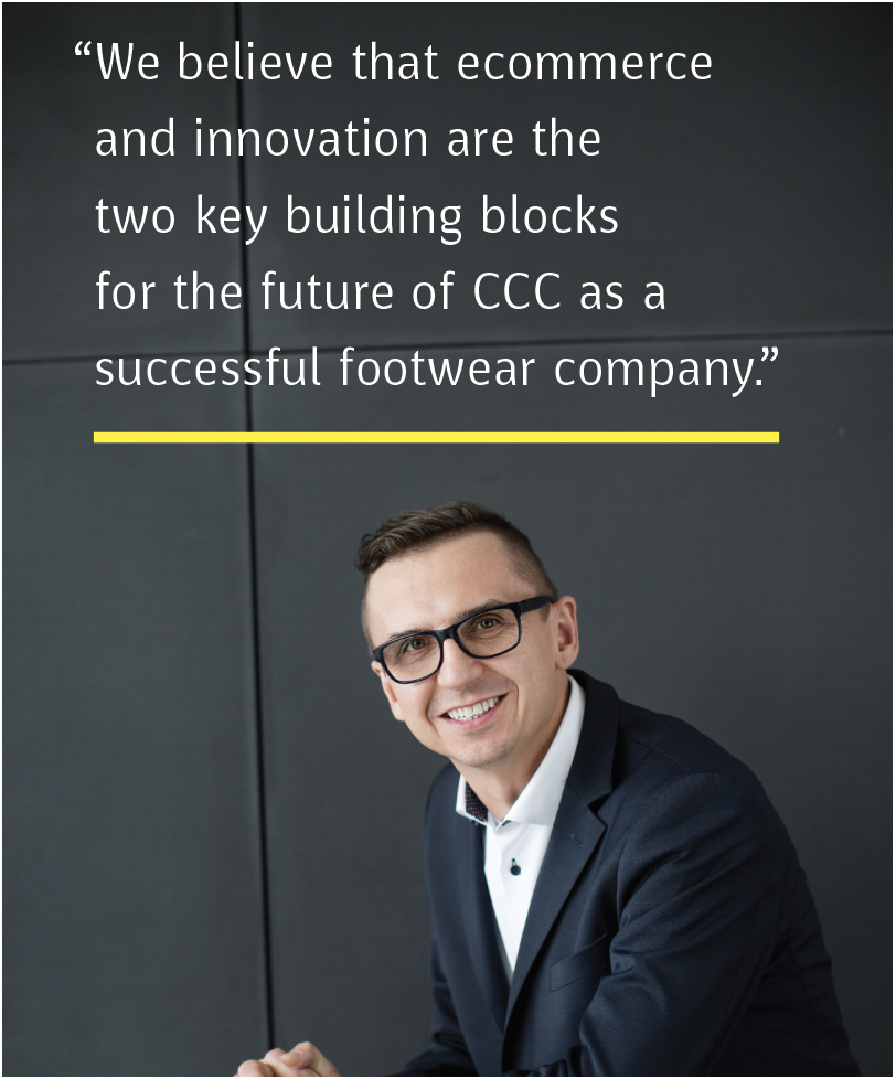 Marcin Czyczerski, Chief Financial Officer of CCC