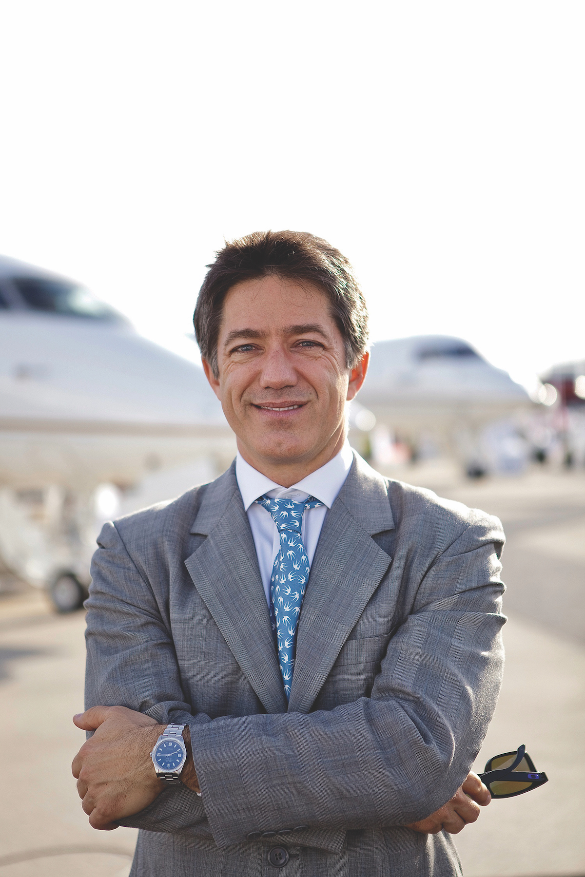 Brandon Mitchener CEO of European Business Aviation Association