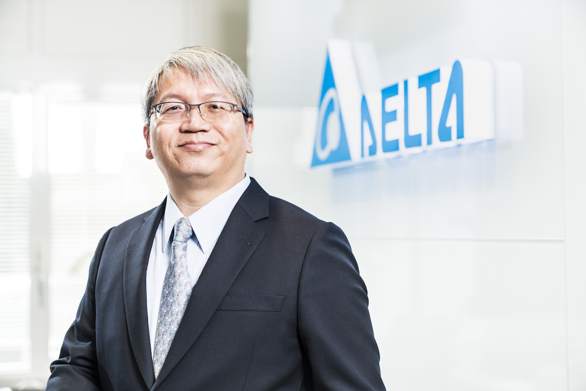 Jackie Chang President & GM of Delta Electronics EMEA