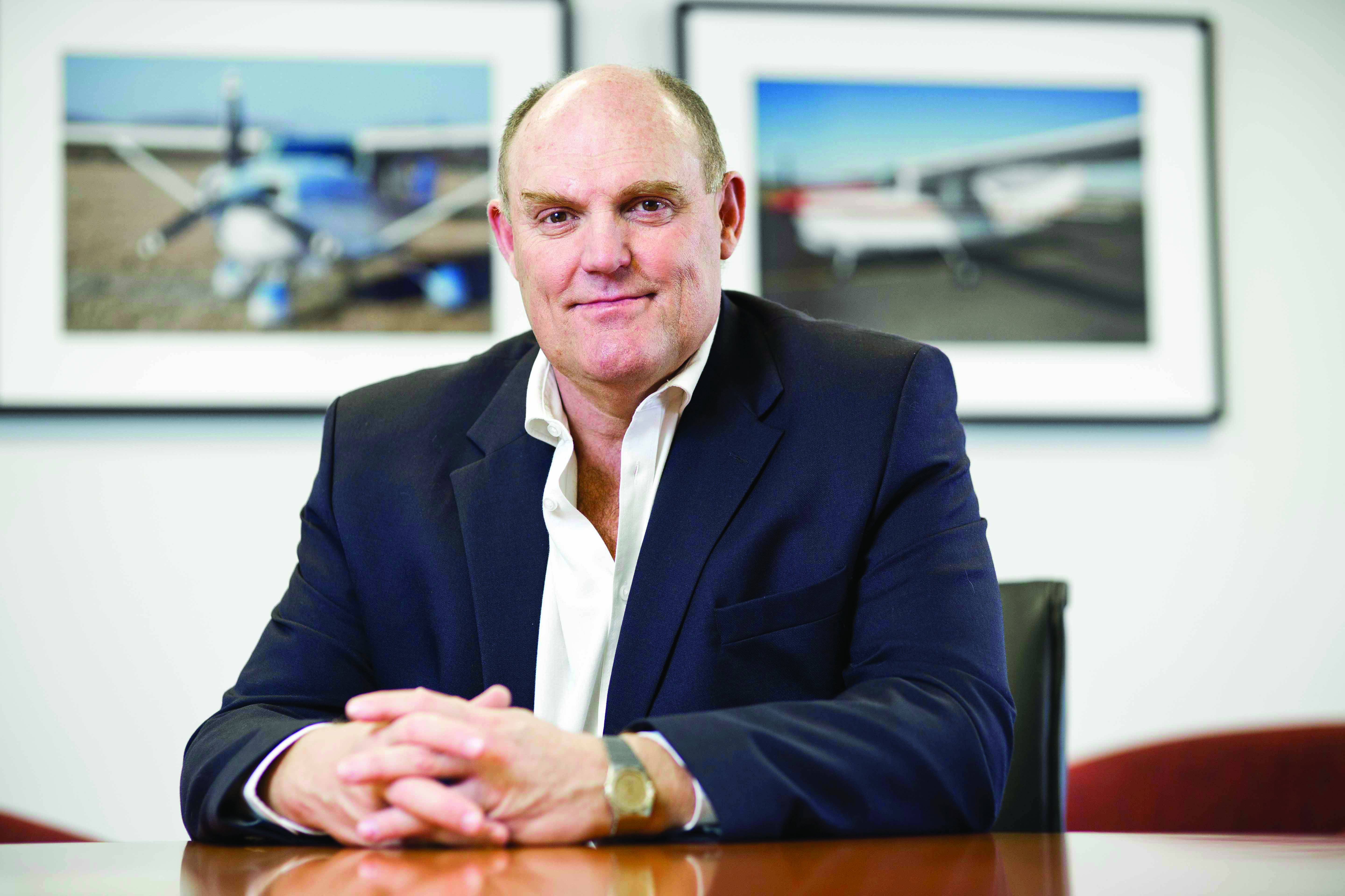 Hein Boegman, CEO of PwC Africa