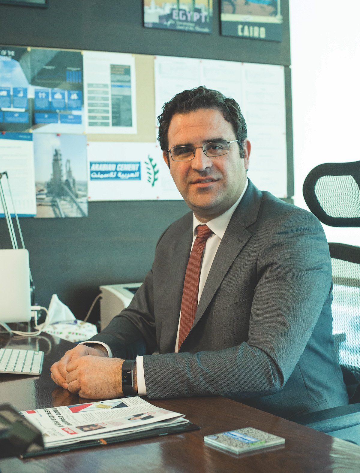 Sergio Alcantarilla CEO of Arabian Cement Company