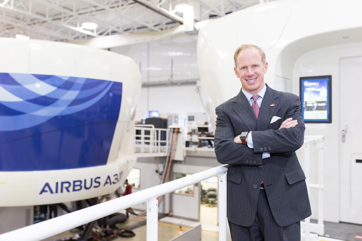 Ian Walsh President & CEO of TRU Simulation + Training of Textron-Tru