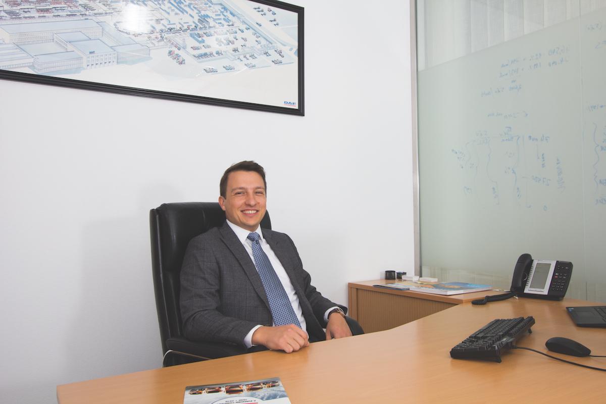 David Kiss Managing Director of DAF Trucks Hungary