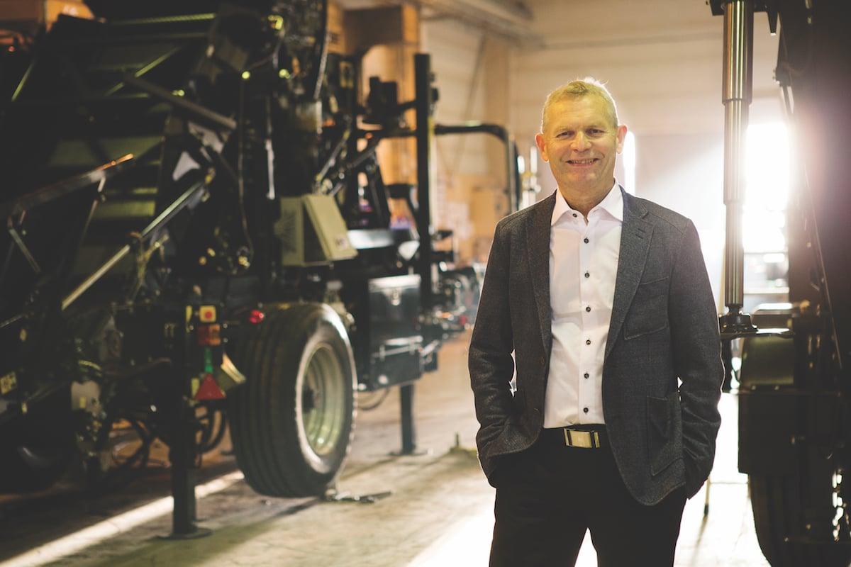 Jarl Gjonnes CEO of Orkel