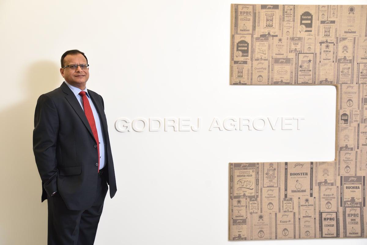 Balram Singh Yadav, MD of Godrej Agrovet
