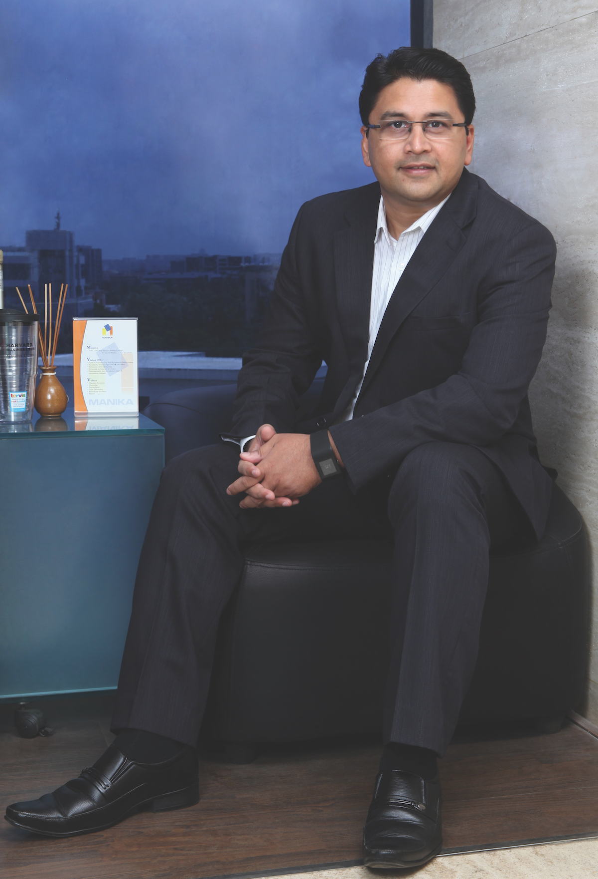 Munjal Kapadia, CEO & MD of Manika Moulds