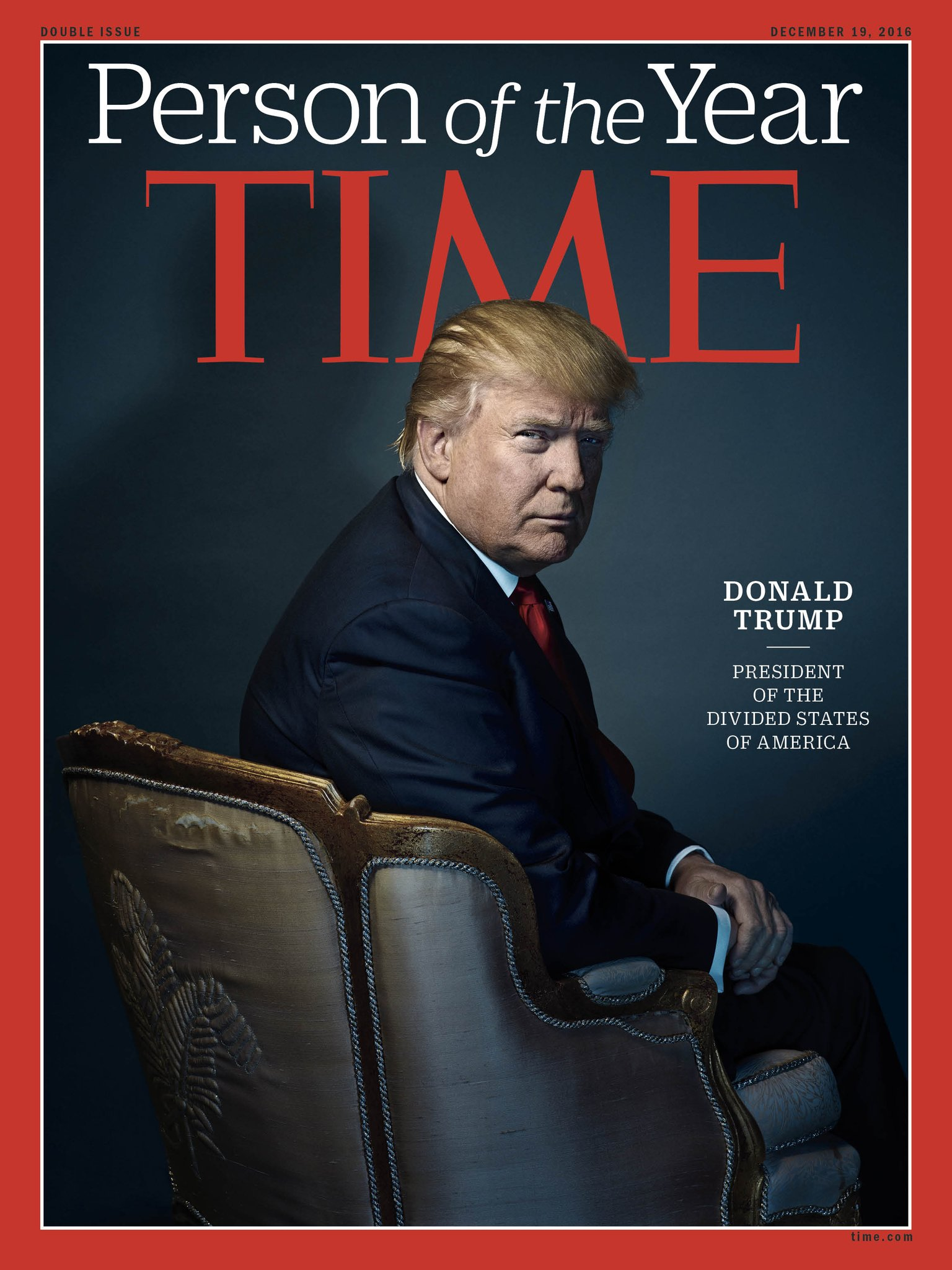 TIME magazine Trump person of the year