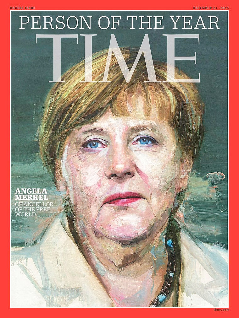 Angela Merkel TIME Person of the Year