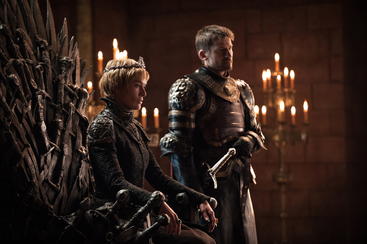 Game of Thrones, Season 7 Cersei and Jamie Lannisters
