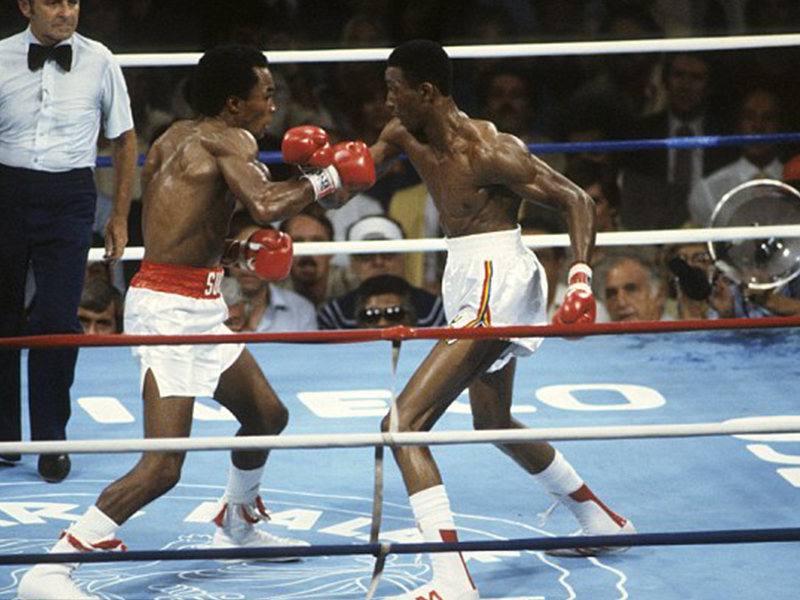 Sugar Ray Leonard vs Tommy Hearns