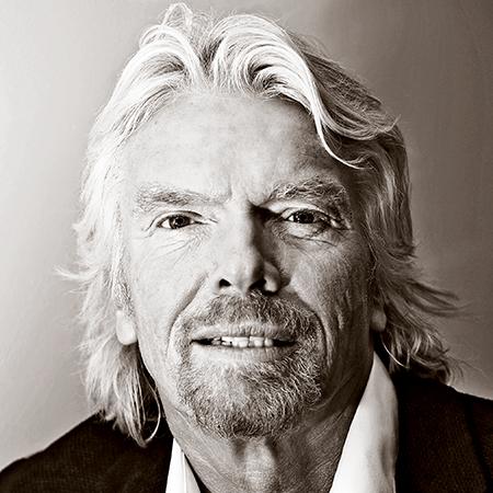 Richard Branson - Founder of Virgin Group Photo