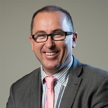 Photo of Corey Hannett - CEO of Regional Rail Link Authority