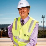 Photo of Peter Howman - MD of Defence Housing Australia
