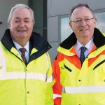 Photo of Cathal and Harry Hughes - Chairman & MD of Portwest