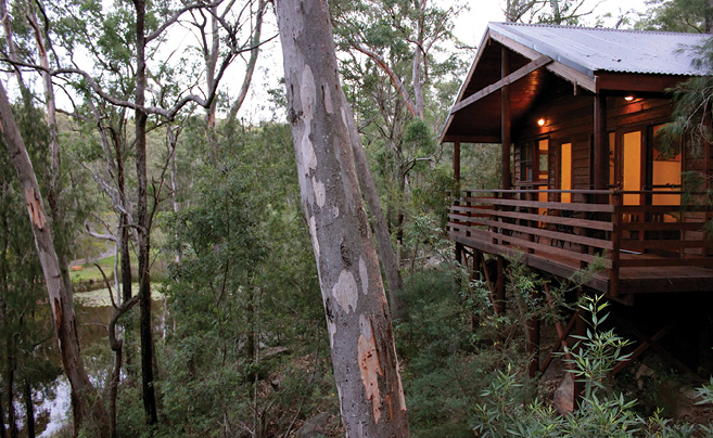 Camoed by a Billabong Retreat - article image
