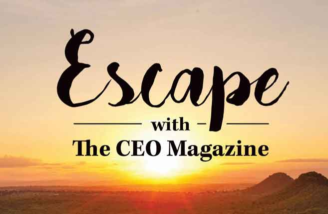 Escape with the CEO magazine - image