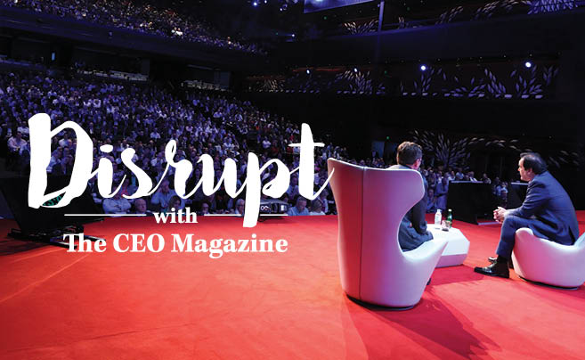 Disrupt with The CEO Magazine