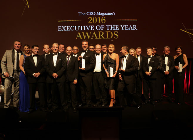 Executive of the Year Awards Winners 2016