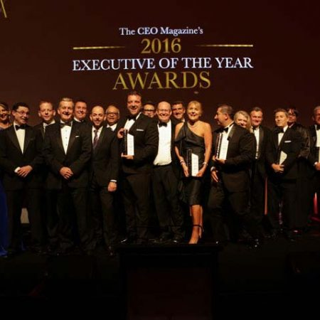 Executive of the year awards - winners