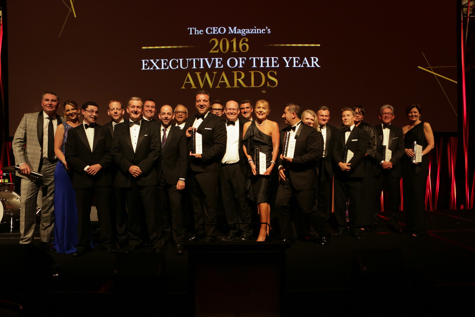 2016 Executive of the Year Awards Winners