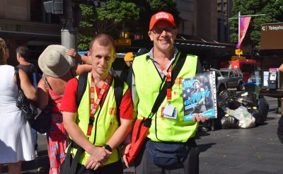 Australian CEOs step into the shoes of The Big Issue vendors