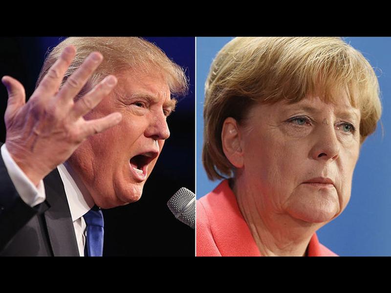 Trump and Angela