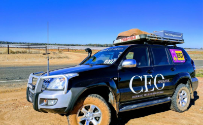 The CEO Magazine proudly supports The Outback Car Trek 2017