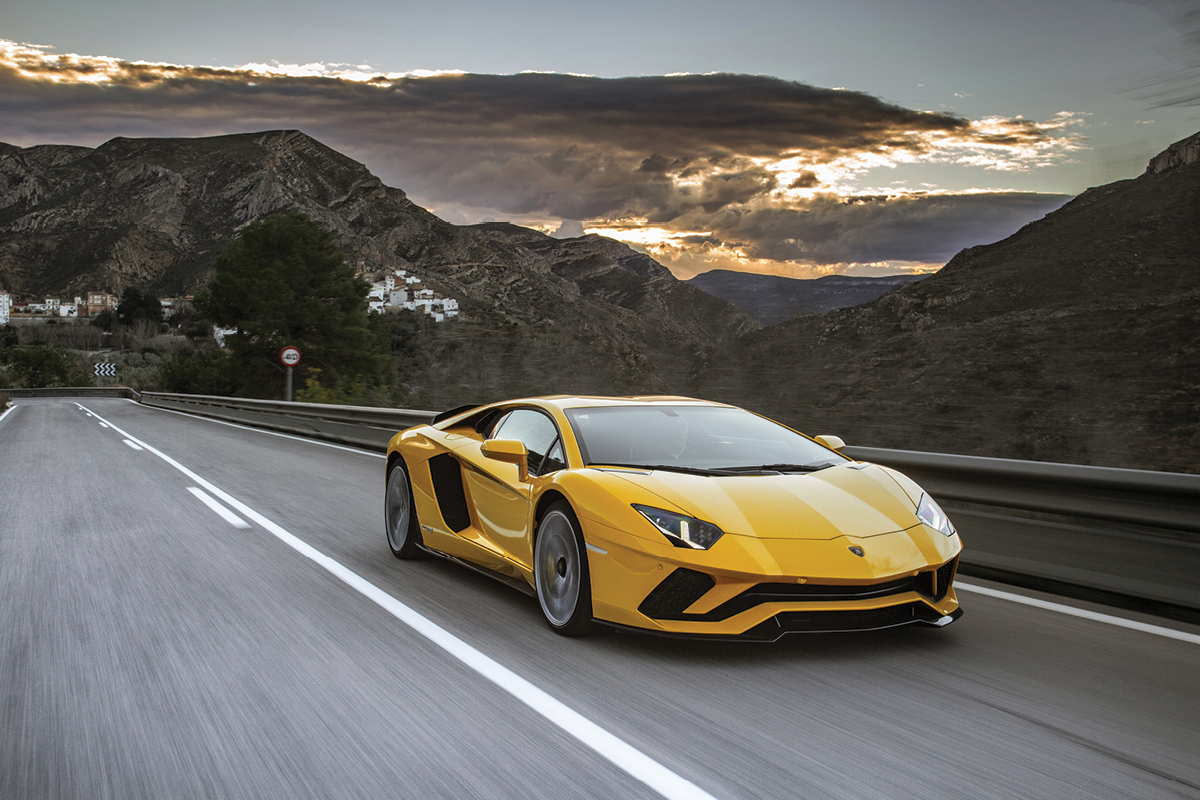 We Test Drive The Brutally Fast Lamborghini Aventador S