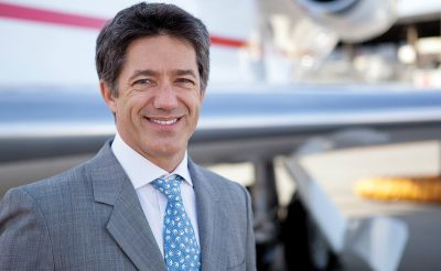 Brandon Mitchener CEO of European Business Aviation Association