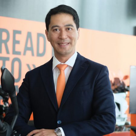 Dino Santos COO of KTM Motorcycles Philippines