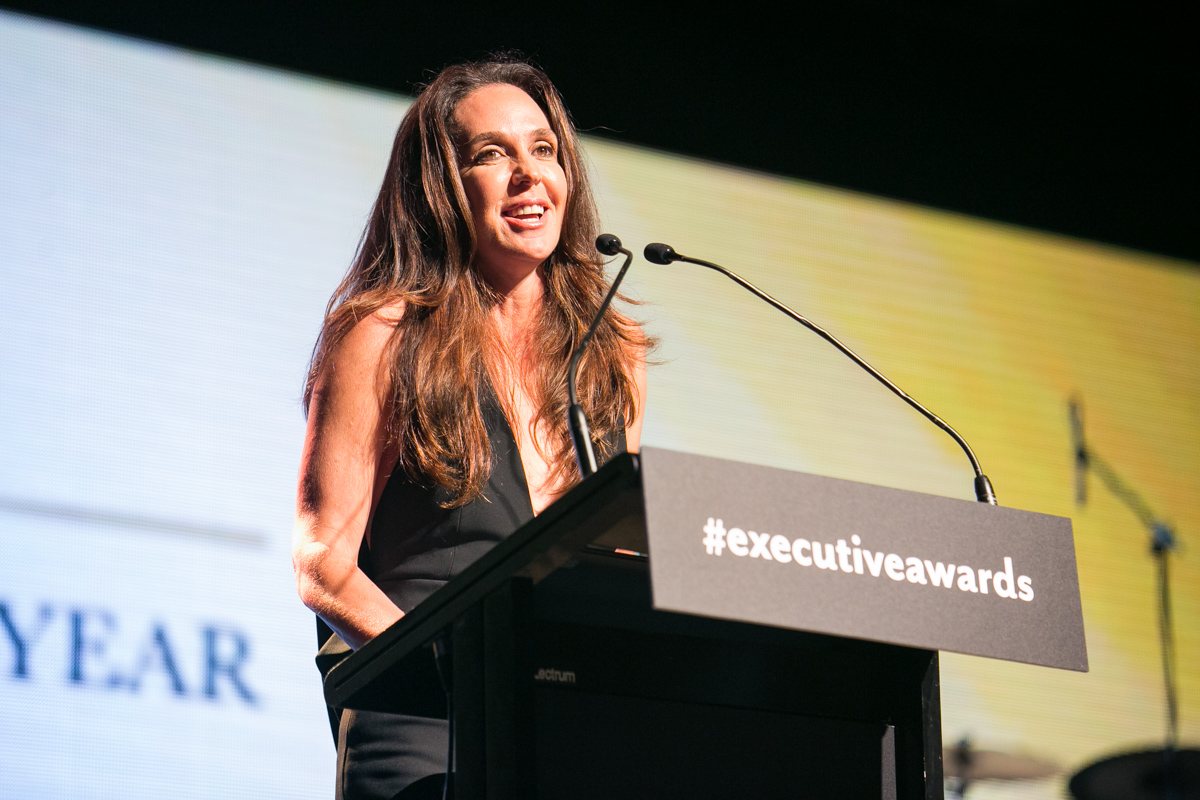 Janine Allis at the 2017 Executive of the Year Awards