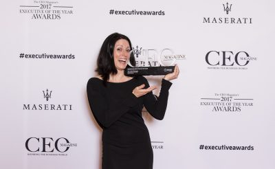Trisca Scott-Branagan wins Marketing Executive of the Year Award